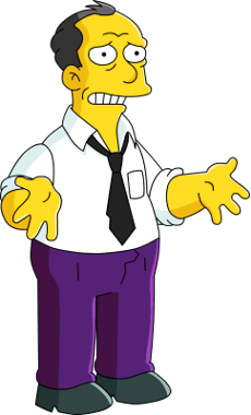 Gil from Simpsons